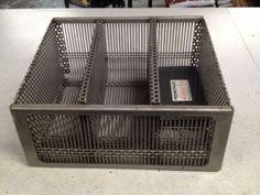 3 Bay pellet basket - insert in your wood burning (open ...