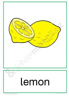 """Flashcards Obst """"Fruits"""" - Seite 8 English Words, English Lessons, Learn English, Teaching Vocabulary, Teaching Activities, English Grammar Worksheets, English Vocabulary, Free Preschool, Preschool Worksheets"""