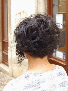 cute Short Curly Hair Ideas for women 2015