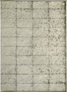 Untitled (Black and Cream Grid) Artist: Brice Marden Completion Date: 1964 Style: Minimalism Genre: abstract
