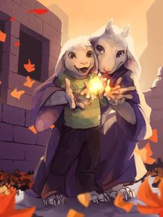 ❤️Asriel & Tooriel.The feels!! ;(