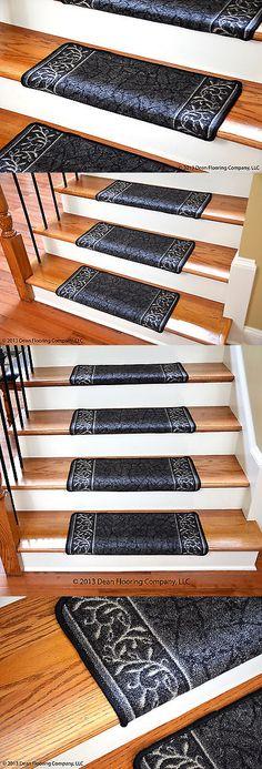 Stair Treads 175517: Dean Tape Free Pet Friendly Carpet Stair Treads Panel  Kerman Cloude W Hearthmat  U003e BUY IT NOW ONLY: $299.99 On EBay!