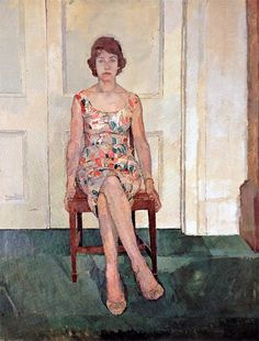 untitled painting by Euan Uglow (1932-2000), British (artodyssey1)