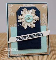 Snowflake Splendor; Sheet Music Background; Holiday Subway Art; Snowflake Splendor Die-namics; Blueprints 8 Die-namics; Pierced Traditional Tag STAX Die-namics - Amy Rysavy