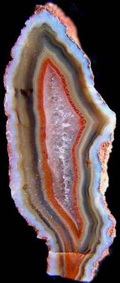 Agate from the Czech Republic