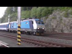 Banáni, elektrické lokomotivy řady 151 (FHD) - YouTube Train, Vehicles, Youtube, Zug, Rolling Stock, Strollers, Vehicle, Tools