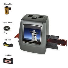 """All features great *Magnasonic All-In-One High Resolution 22MP Film Scanner, Converts 126KPK/135/110/Super 8 Films, Slides and Negatives into Digital JPEGs, Vibrant 2.4"""" LCD Screen, Impressive 128MB Built-In Memory(FS50) - Office Products Item Catalog Promotions And Offers"""