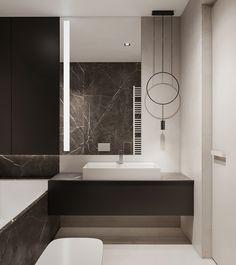 Two bathroom design ideas Lego House, Mirror, Interior Design, Furniture, Behance, Design Ideas, Toilets, Home Decor, Bathrooms