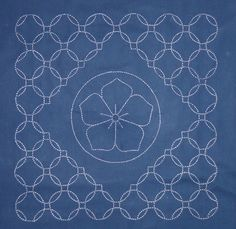 PP Blog: Last Sashiko Class Recommended a particular carbon paper for transferring patterns.