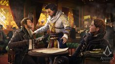 widescreen backgrounds assassins creed syndicate  (Burgundy Bishop 4480x2520)