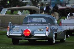 Futuristic Buick Le Sabre on the 18th fairway