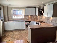 #popular #kitchen #germankitchen #nobilia #satingrey #doors #maracaibo #worktops @Sensio_Ltd  #lighting #Glasgow