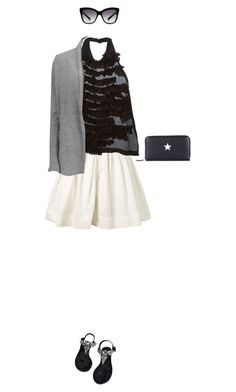 """March madness: high top"" by dantevandenabeele ❤ liked on Polyvore featuring Marc Jacobs, Comme des Garçons, Ally Fashion, Vero Moda, Dolce&Gabbana and Givenchy"