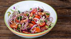 Two SImple Tomato Salads | CookingGlory.com