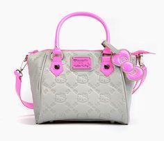 Hello Kitty Handbag: Neon Pink