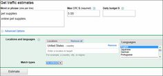 Quick Guide to Google AdWords Traffic Estimator: How to Estimate Traffic With Google
