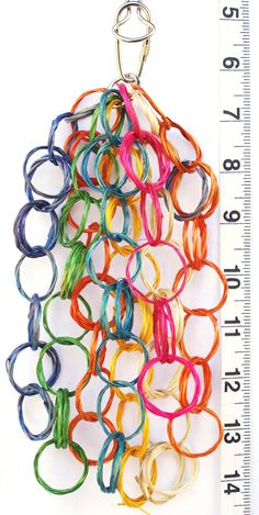 Vine Chain Tassel - Bird Toys for Pet Parrots by A Bird Toy