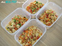 Easy Meal Prep Fried Rice Using Leftover Items in Your Fridge