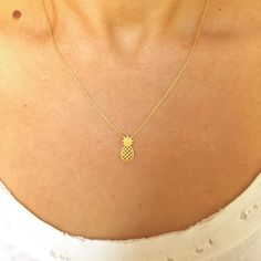 b4efbe2a7636 Delicate chain with a dainty contiguous tiny pendant. These will become  your favorite necklace