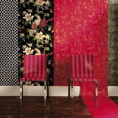 Papeles pintados: un toque retro Lofts, Retro, Divider, Curtains, Room, Furniture, Home Decor, Ideas, Environment
