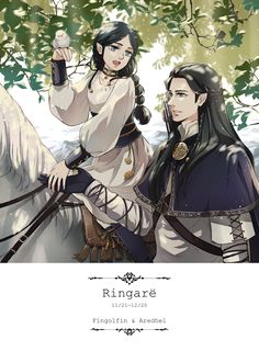 Daughters - Fingolfin and Aredhel by akato3