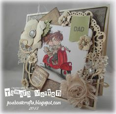POSH CAT CRAFTS Cat Crafts, Making Ideas, Card Making, Create, Handmade Cards, Design, Home Decor, Craft Cards, Decoration Home