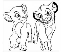 Image detail for printable coloring page The Lion King 72