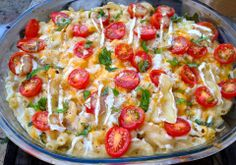 Macaroni-more-than-cheese!  Most delicious recipe ever!