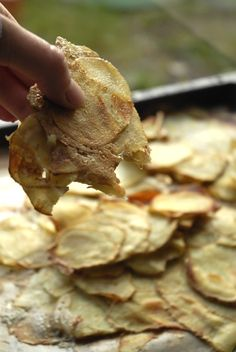 Tahinkartoffelfad // Pommes Nina // plantepusherne