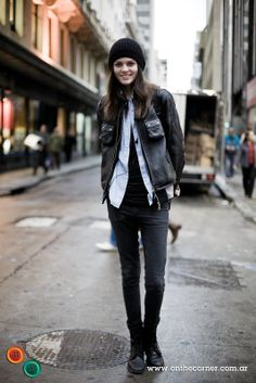 Rock 'n' Roll Style ☆ BUENOS AIRES STREET STYLE