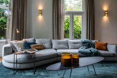 Portfolio interieurprojecten door Co van der Horst Van, Couch, Doors, Furniture, Home Decor, Settee, Decoration Home, Sofa, Room Decor