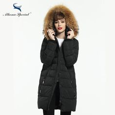 New Women Winter Coat Warm Winter Thick Hooded Parka Womens Bio Down Jackets Female Overcoat High Quality  #girls #igdaily #loveit #tbt #fashiondesigner #couturier #vscocam #sweet #fashionday #fashionweek