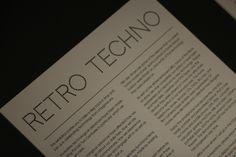Retro Technology display