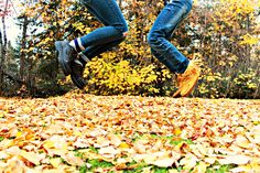 FALL pictures with Hailey and Martine
