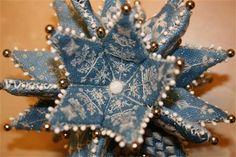 Stitching Treasures - Snowflake pinkeep