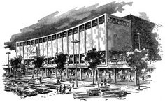 Stern Brothers on 42nd Street, with its south-facing facade  overlooking Bryant Park and the New York Public Library      42nd ST...