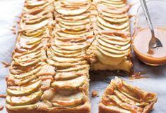 Almás szelet fahéjas karamellel