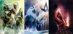 The Sons of Cronus - Zeus, Poseidon and Hades. by JoshSummana on Devianart.