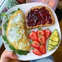 Healthy Breakfast Recipes, Healthy Snacks, Healthy Eating, Healthy Recipes, Breakfast Ideas, Chicken Breakfast, Healthy Exercise, Perfect Breakfast, Healthy Sweets