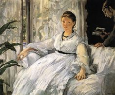 Reading by Edouard Manet #art