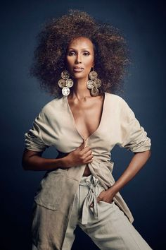 iman now5 Iman Steals the Spotlight in SCENE Shoot by Douglas Friedman