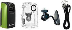 Brinno Construction Time Lapse Camera Bundle BCC100 + Brinno ATM100 Motion Sensor Special Kit