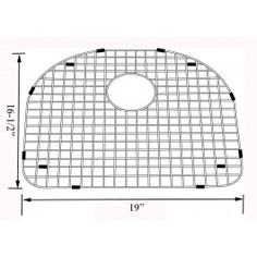 Nantucket Sinks BG 2318 16 Stainless Steel Bottom Grid For NS2318 16 Sinks  | Grids For Kitchen Sinks | Stainless Steel Grids | Pinterest | Sinks, ...