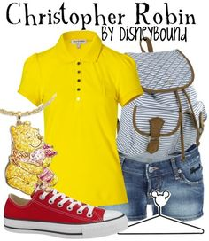 Disneybound - Christopher Robin outfit (Winnie the Pooh)