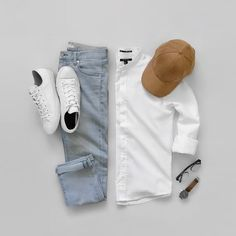 Mens outfit grid -- for more come and give a visit at aggelos_lamaj - - - - Robert . Mens outfit grid -- for more come and give a visit at aggelos_lamaj - - - - Robert Schaffmann , Best Smart Casual Outfits, Casual Summer Outfits, Sneakers Outfit Men, Sneakers Fashion, Women's Sneakers, Sneakers Sale, Mens White Sneakers, Vintage Sneakers, Stylish Men