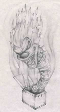 jack in the box by abemir traditional art drawings fantasy 2005 2015 ...