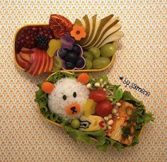 Healthy, Too-Cute-To-Eat Bento Lunchbox