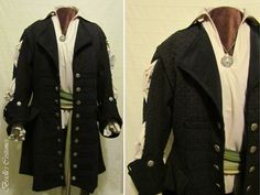 Image result for Green pirate coat