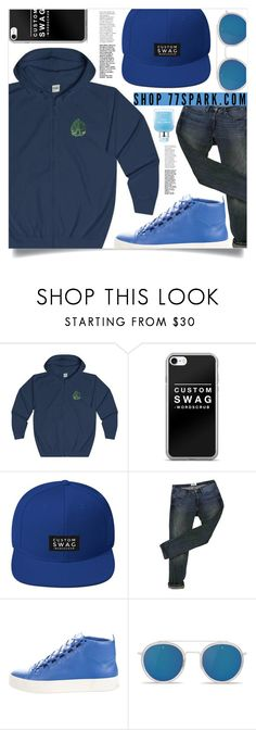 """Custom swag! (10)"" by samra-bv ❤ liked on Polyvore featuring Acne Studios, Balenciaga, Vuarnet, Dolce&Gabbana, men's fashion and menswear"