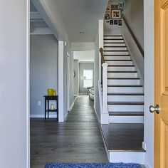 #Staircase with a #ModernDesign. #DesignInspiration #GarmanInspires ~ Click here to see more stunning photos of homes by this Builder: http://www.houzz.com/projects/users/garmanbuildersinc